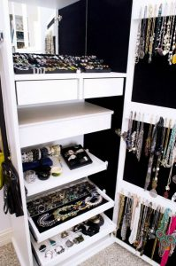 Jewelry Cabinet by California Closets