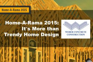 Home-A-Rama 2015: It's More Than Trendy Home Design