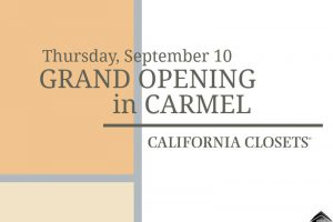 California Closets of Indianapolis is joining the Carmel Arts & Design District!