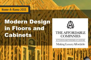 Home-A-Rama 2015: Modern Design in Floors and Cabinets