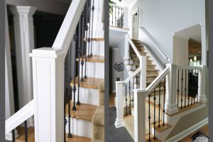 Updating a Staircase Adds Architectural Flair to Your Home