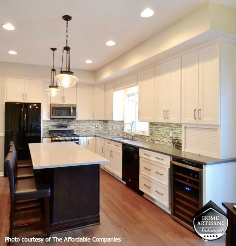 Kitchen Remodel After   Home Artisans of Indiana