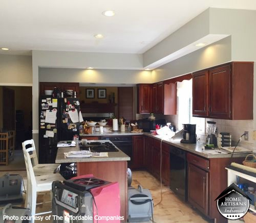 Kitchen Remodel Before   Home Artisans of Indiana